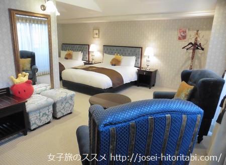 ホテルケーニヒスクローネ神戸のスーペリアツインルーム