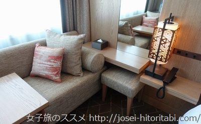 ホテルザセレスティン東京芝のスーペリアダブルルーム