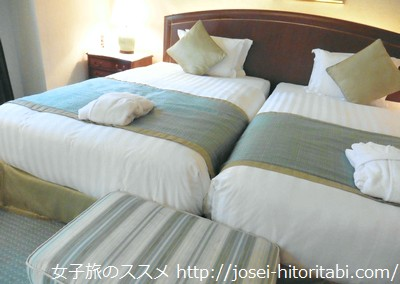神戸北野ホテルのツインルーム