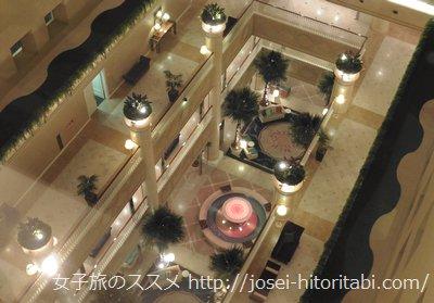 メリケンパークオリエンタルホテルのロビー