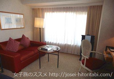 神戸ベイシェラトンのクラブフロア客室