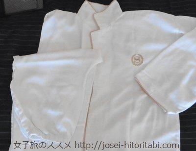 神戸ベイシェラトンのパジャマ