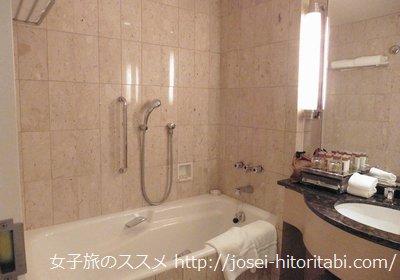 神戸ベイシェラトンの客室風呂