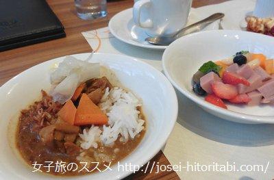 神戸ベイシェラトンの夕食バイキング