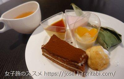 ミレニアム三井ガーデンホテル東京のランチ