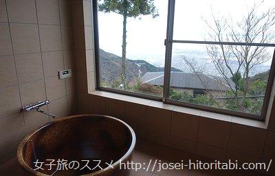オーシャンテラスあじさいの客室風呂