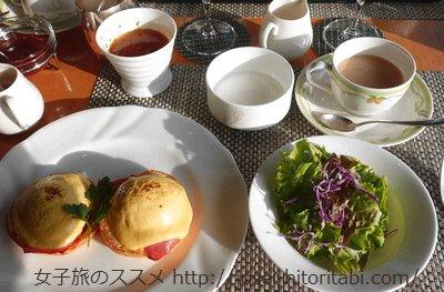 ガーデンテラス長崎の朝食