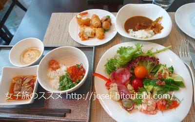 東京ステーションホテルの朝食ビュッフェ