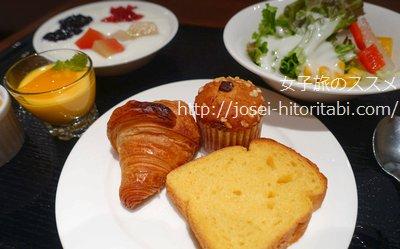 神戸トアロードホテル山楽の朝食