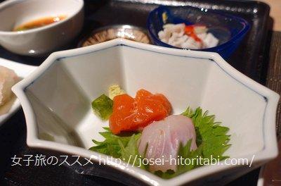 神戸みなと温泉蓮の夕食