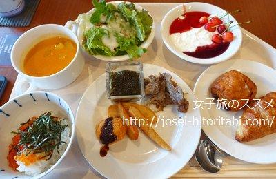 ホテルWBFグランデ旭川の朝食