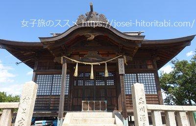 鞆の浦の淀媛神社