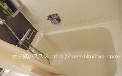錦水館の客室バスルーム