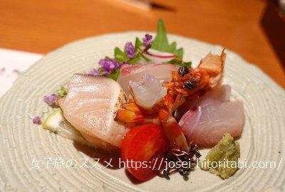 錦水館の夕食