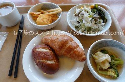 ホテルルートイン輪島の無料朝食