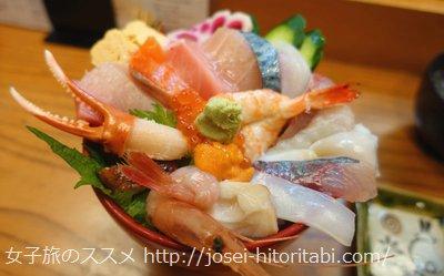 伸福の海鮮丼