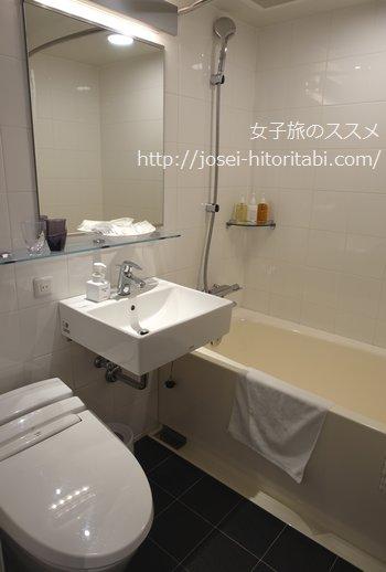 ホテルフォルツァ長崎のバスルーム