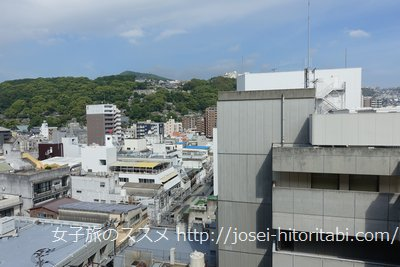 ホテルフォルツァ長崎の眺望