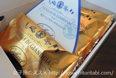 東京駅限定のジャンドゥーヤチョコレートパイ