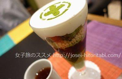 中村藤吉本店の抹茶パフェ