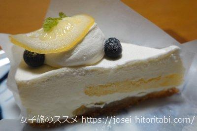 ル・パティシエ・ミエルのチーズケーキ