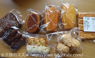 ペシェグラン札幌の焼き菓子