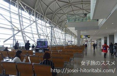 関空のターミナル