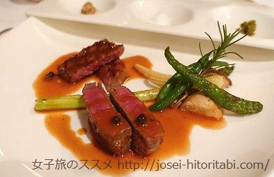 ガーデンテラス長崎ホテル&リゾートのディナー