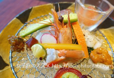 あわじ浜離宮の夕食