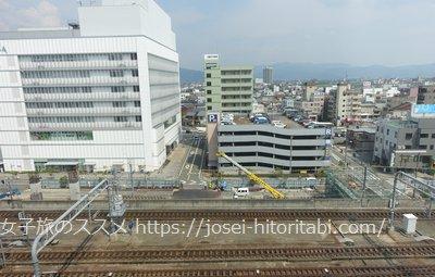 マンテンホテル福井駅前の眺望