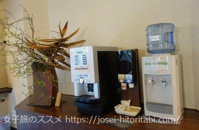 マンテンホテル福井駅前のコーヒーサービス
