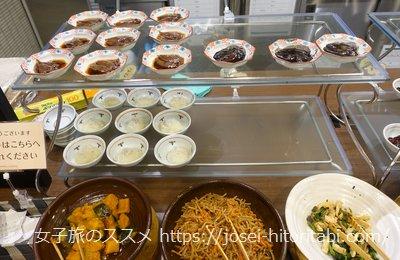 マンテンホテル福井駅前の朝食バイキング