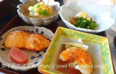 ホテルラスイート神戸ハーバーランドの和朝食