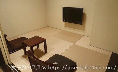 ラスイート神戸ハーバーランドの和室