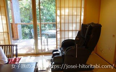 松葉温泉 滝の湯の客室