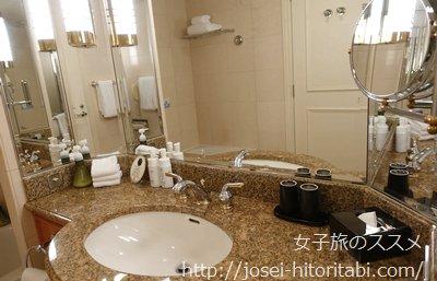 マリオットアソシアホテル名古屋のパウダールーム