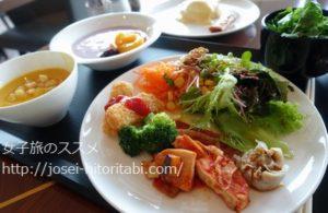 マリオットアソシアホテル名古屋パーゴラの朝食ビュッフェ