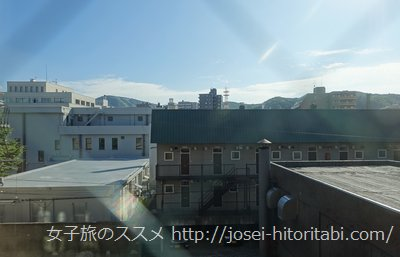 運河の宿 小樽ふる川の眺望