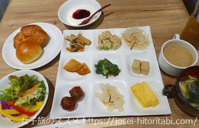 東急ステイ京都両替町通の朝食バイキング
