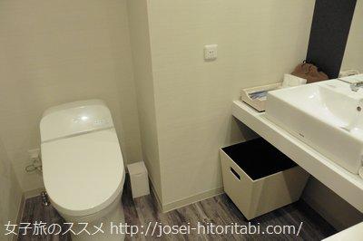 ダイワロイネットホテル銀座のトイレ