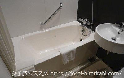 三井ガーデンホテル京橋のバスルーム