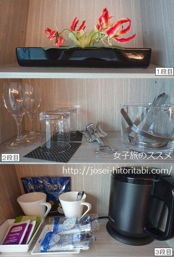 三井ガーデンホテル銀座プレミアのアメニティ
