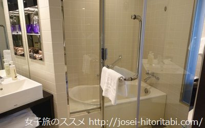三井ガーデンホテル銀座プレミアのお風呂