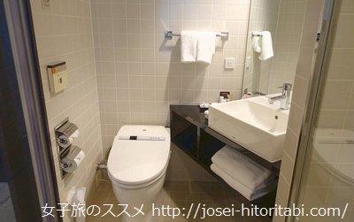 三井ガーデンホテル銀座プレミアのトイレ