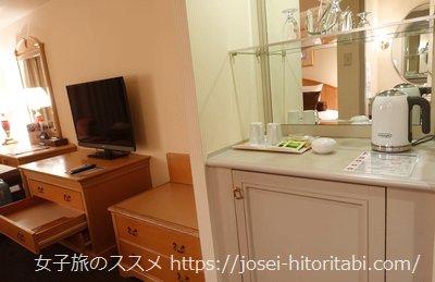 ホテルオークラJRハウステンボスのスーペリアハリウッドツインルーム