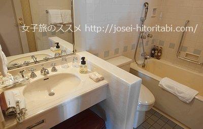 ウォーターマークホテル長崎ハウステンボスのお風呂