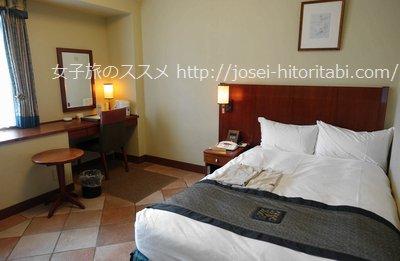 ホテルモントレ神戸のシングルルーム