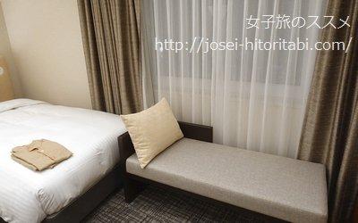 プレミアホテルキャビン大阪のツインルーム