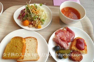 プレミアホテルキャビン大阪の朝食バイキング