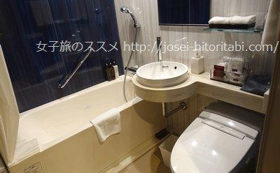 三井ガーデンホテル名古屋プレミアのお風呂